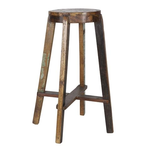 karwei wood woood barkruk inca krukken stoelen krukken