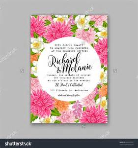 Card For Groom On Wedding Day Wedding Invitation Or Card With Tropical Floral Background Greeting Postcard In Grunge Retro