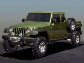 Jeep Gladiator Concept 2005 Jeep Gladiator Concept Pictures Review