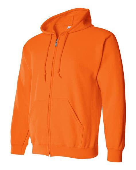 Hoodie Zipper Gildan 88600 Size gildan ansi high visibility zip hooded sweatshirt