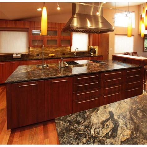 Choosing Granite Countertop Colors by Choosing Granite Countertop Colors For Cherry Wood