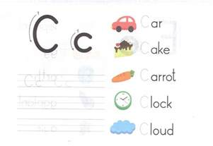 alphabet capital and small letter c c worksheet for