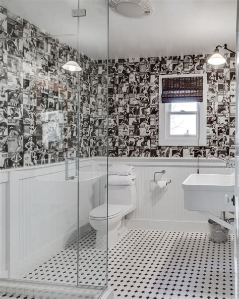 Unique Bathroom Tiles Designs by 20 Black And White Bathroom Designs Decorating Ideas