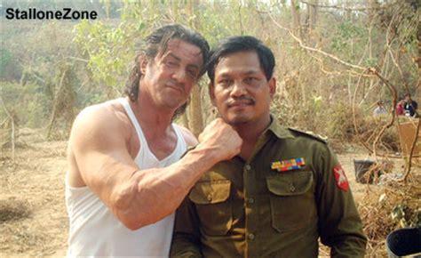 burma rambo film stallonezone sly in burma news