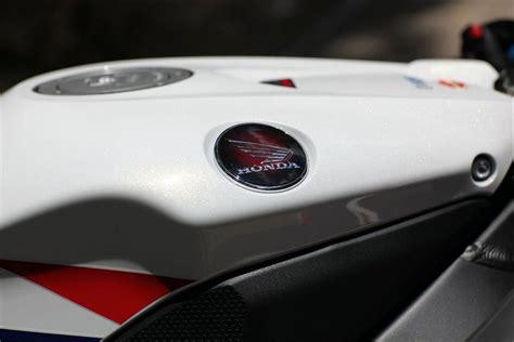 Emblem Stainless Honda Wing Reguler Blacksilver logo cbr fireblade pimp ma bike