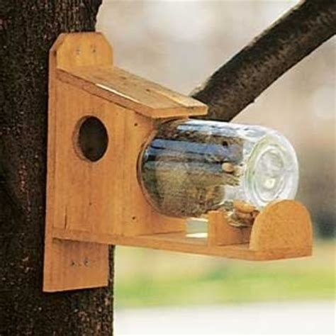a simple squirrel feeder waaaaayyyyy cute pinterest