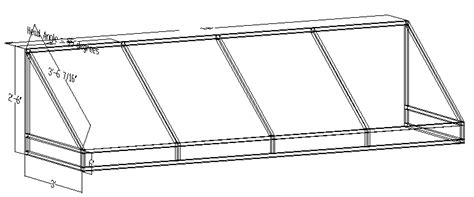 awning frame how to draw frames