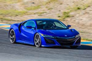 new honda sports car 2015 2016 honda nsx road and track review review autocar