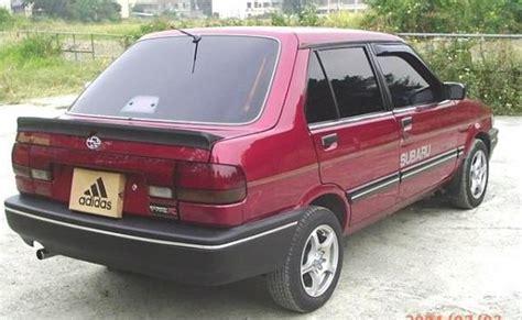 how to fix cars 1992 subaru justy seat position control justywrx 1992 subaru justy specs photos modification info at cardomain