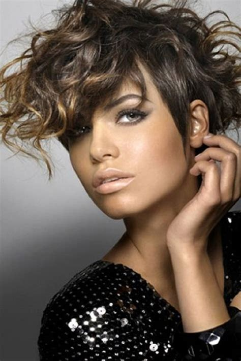 edgy curly hairstyles 2012 top 10 fashionable pixie haircuts for summer top inspired