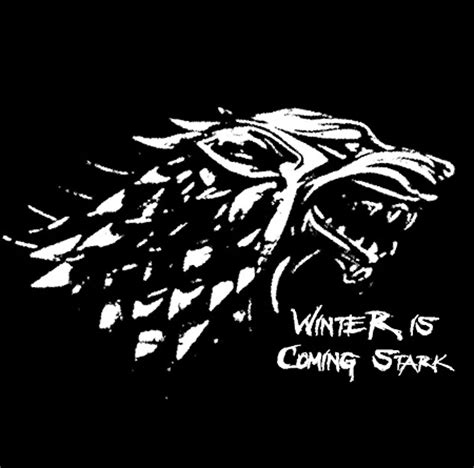 Tshirt Winter Is Coming Stark winter is coming stark t shirt of thrones