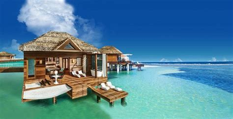 new sandals resort sandals resorts announces new overwater bungalows in