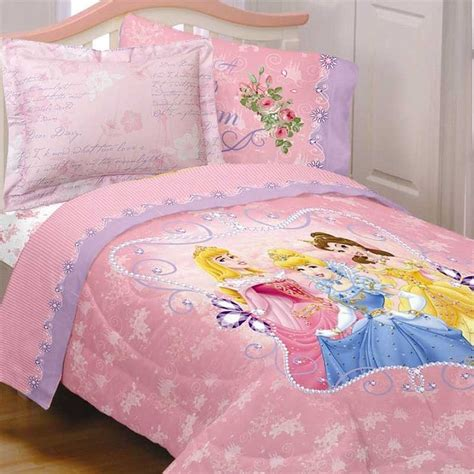 princess twin bedding set disney princess comforter set cinderella blanket sham