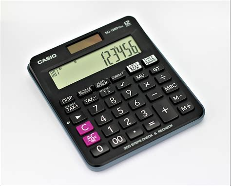 Casio Dj 120d Kalkulator Meja casio mj 120d 12 digits casio calculators dubai abu