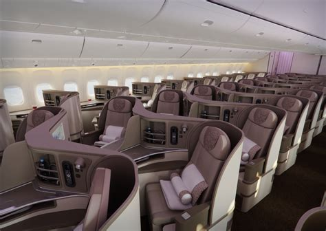 Air 777 Interior by China Eastern S New 777 300er Gives The Airline An Added