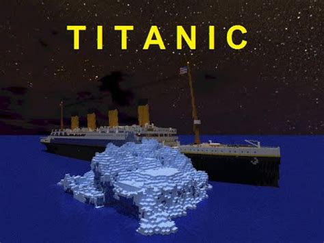 titanic film the story minecraft the story of the titanic doovi