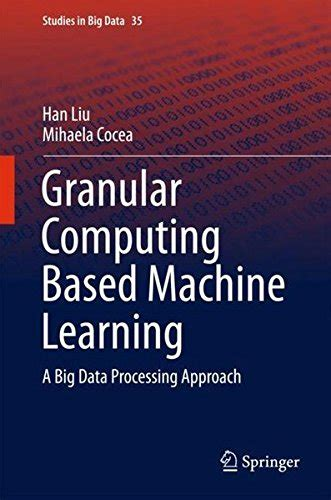 machine learning a constraint based approach books granular computing based machine learning a big data