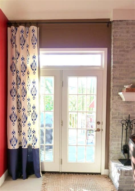 ways to hang drop cloth curtains the curtains were made from a drop cloth 88 quot length and