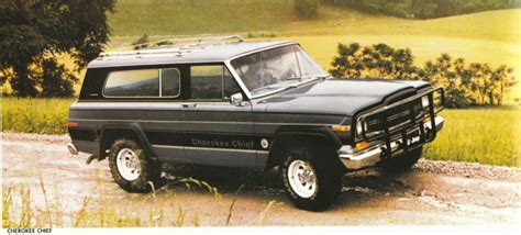 jeep cherokee 1980 1980 jeep cherokee chief 1980 jeep sales brochure flickr