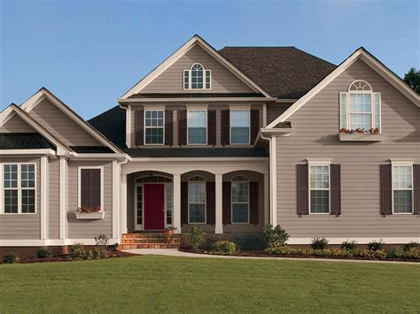 taupe exterior house colors studio design gallery - Taupe Exterior Paint