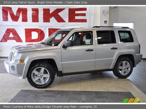 jeep patriot 2010 interior bright silver metallic 2010 jeep patriot sport