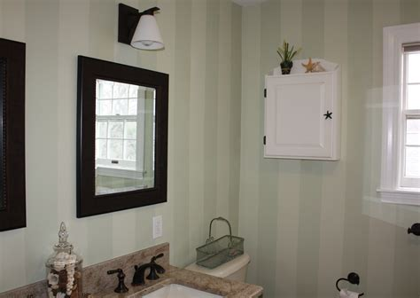 striped bathrooms painted striped bathroom classic fauxs finishes