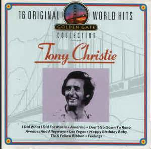 Cristie Original 16 tony christie 16 original world hits cd at discogs
