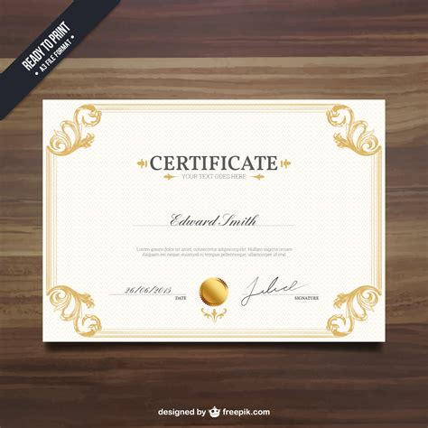 cer van layout compilation 10 free certificate templates