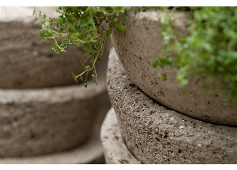 How To Make Lightweight Concrete Planters by 3 Sles Large Lightweight Concrete Planters
