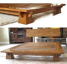 japanese platform bed plans woodworking projects plans