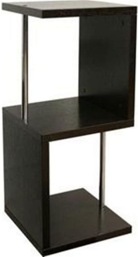 Modern Brown Wooden Display Shelf Wholesale Interiors He5586 Wenge Cornelia Brown