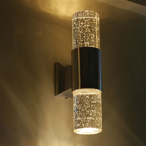 led wall sconce with switch