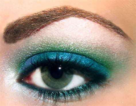 Shoo Olive Korea makeup for blue green makeup vidalondon