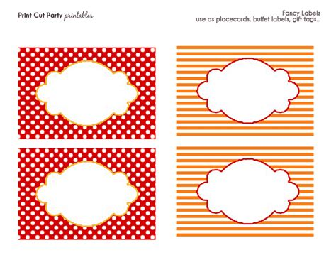 printable party labels printable circus templates party printables frosted