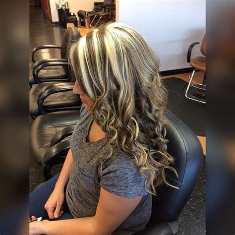 foil frosting hair blonde hair cut pic 501 best chunky streaks lowlights 4 images on pinterest