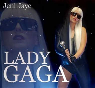 lady gaga biography book lady gaga tribute acts jeni jaye as lady gaga