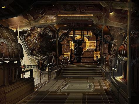 concept art interior on pinterest rpg dead space and cyberpunk 111 best images about spaceship interior on pinterest