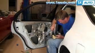 how to install replace rear power door lock actuator honda