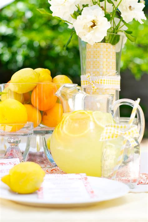Summer Party Ideas Citrus Themed | summer party ideas citrus themed ladies luncheon party