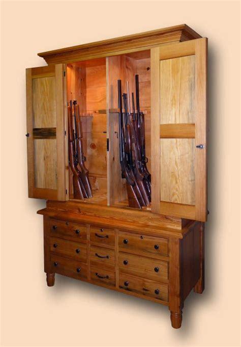 delnero custom furniture rustic pine 28 gun gun