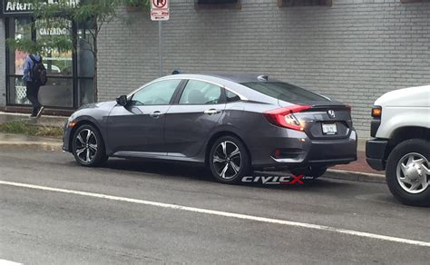 honda civic 2016 sedan spotted 2016 honda civic sedan fully revealed 2016
