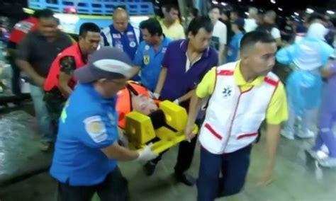 tourist boat sinks in thailand one dead 56 missing after tourist boat sinks in thailand