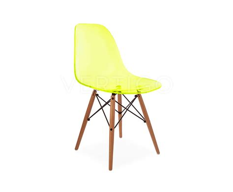 Charles Eames Style Chair Design Ideas Ghost Style Dsw Side Chair Inspired By Designs Of Charles Eames Vertigo Interiors