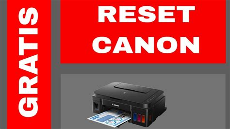 reset canon mp280 youtube gratis reset canon g2100 st4905 youtube