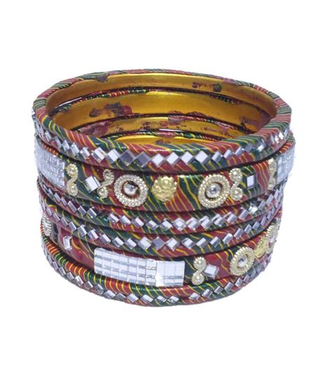 jaipur home decor jaipur home decor lac and bangles set of 3 buy
