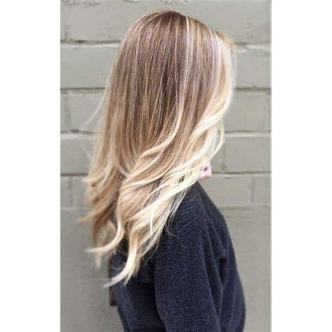 blonde hairstyles polyvore a blonde ambition locks as vibrant as the leaves fall