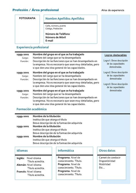 Modelo Curriculum Vitae Gratis Para Descargar 17 Best Ideas About Modelos De Curriculums On Modelos De Cv Curriculum Vitae