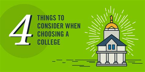 4 things you should consider when choosing a college ed gov