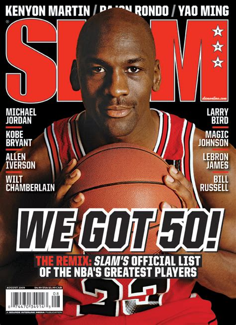 7 Best Sports Magazines by Slam Magazine Top 50 Greatest Nba Players Of All Time