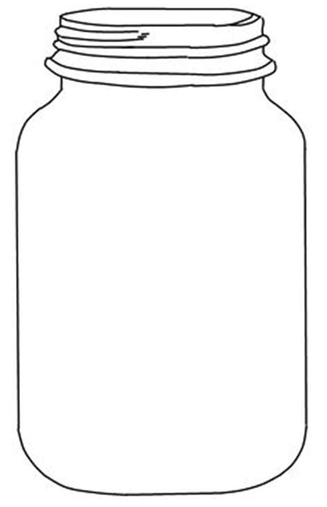 jar cut out template 1000 images about jars on jar